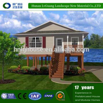 Beside beach Modern Design one bedroom prefab house