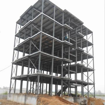 Steel structure high quality prefab mall