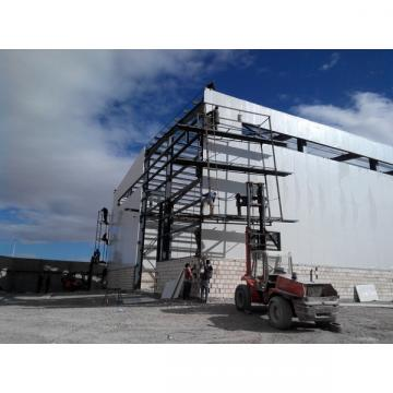 Structural steel frame warehouse