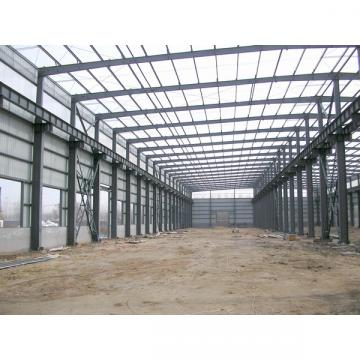 Portable Steel support structure warehouse prefab house