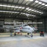 prefabricated steel airplane hangar