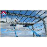 low cost prefab lightweight steel frame structure hangar