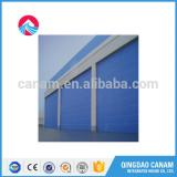 motorized Aluminum electric horizontal door/ transparent roller shutter