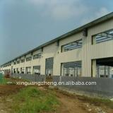 light prefabricated steel structure warehouse building
