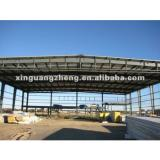 light steel structure warehouse shed with insulation and strong seismic and wind resistance