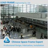 New design steel space frame roof airport station