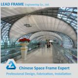 Metal structure steel space frame airport terminal