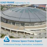 Precise steel roof cover structure space frame football stadium