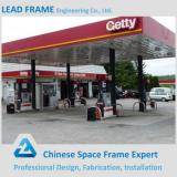 Light Steel Gas Station Prefabricated Steel Building