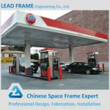 Light Steel Gas Station Prefabricated Construction Materials