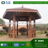 Professional wooden round gazebo for villa garden