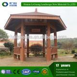 Professional wooden round gazebo for villa garden