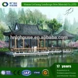 outdoor waterproof louver wooden gazebo 2x4