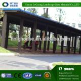 Wood-Plastic composite decking cheap wpc garden pavilion