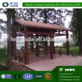 outdoor weatherproof wooden wind resistant gazebo
