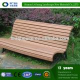 High quality waterproof WPC garden bench wooden slats