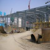 Steel structure warehouse and plant