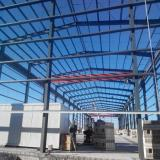 50m span steel structure warehouse manufacturer