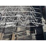 Galvanized truss frame swimming pool cover for natatorium