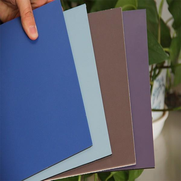 colorful coating ACP aluminum composite panel for wall decoration #4 image