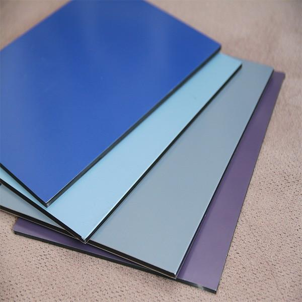 Hot selling aluminum composite panel acp acm panel with low price for Nepal #2 image