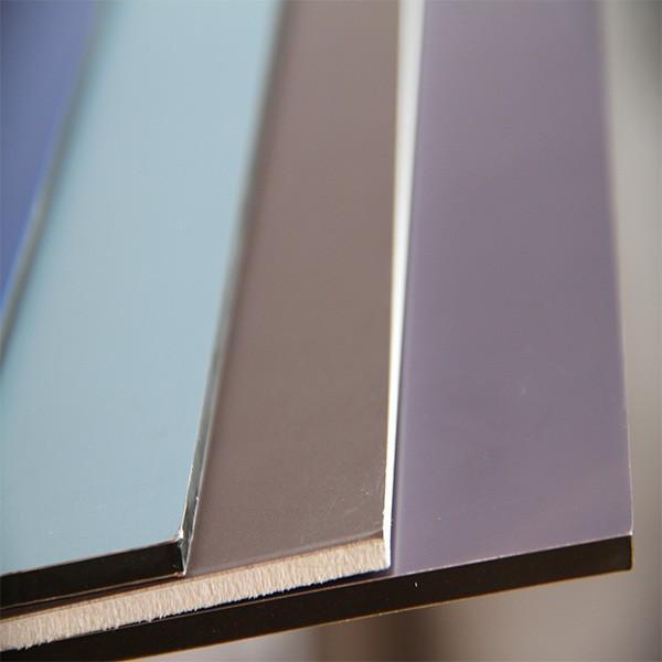 2016 3mm 4mm aluminium composite panel/acp/wall cladding #3 image