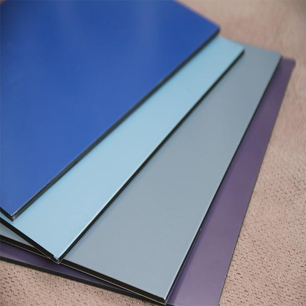 2016 3mm 4mm aluminium composite panel/acp/wall cladding #4 image