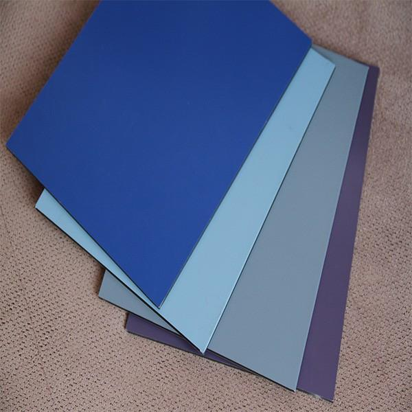 2016 3mm 4mm aluminium composite panel/acp/wall cladding #5 image