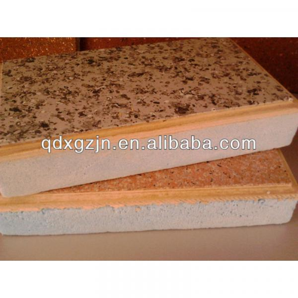 decorative insulation one organic whole board #1 image