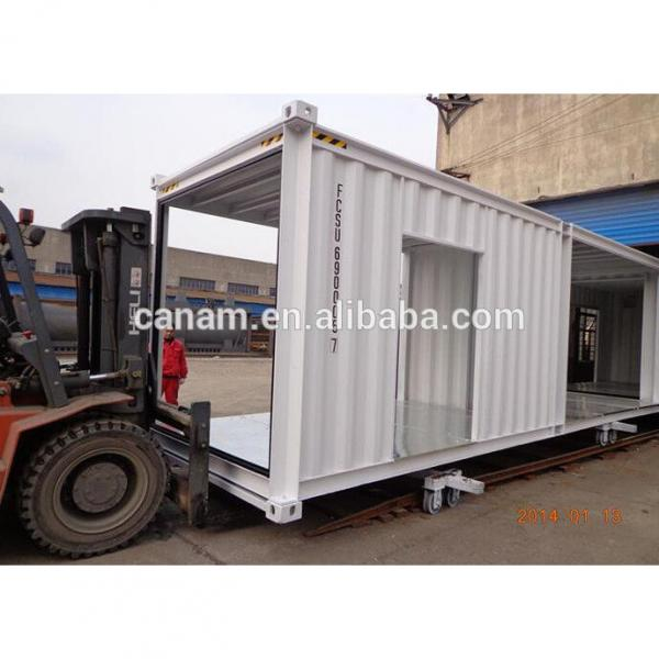 modified 20ft shipping container house container shop store #1 image
