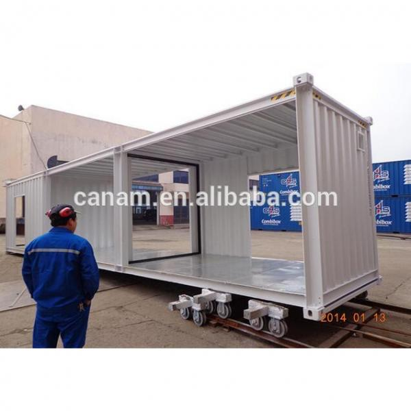 modified 20ft shipping container house container shop store #2 image