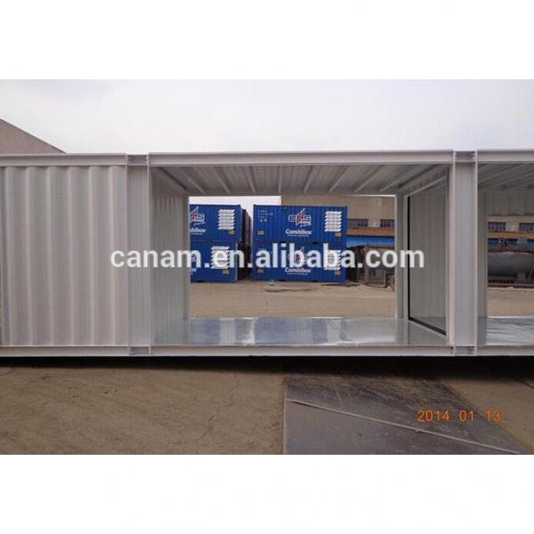 modified 20ft shipping container house container shop store #4 image