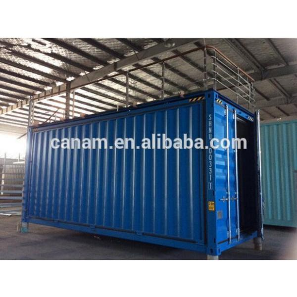 modified 20ft shipping container house container shop store #5 image