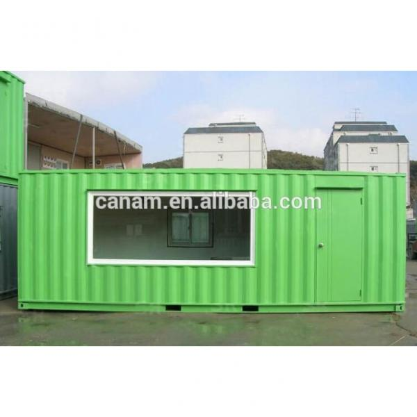 portable 40 ft modified shipping container showroom #1 image