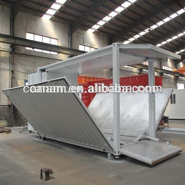 portable 40 ft modified shipping container showroom #4 image