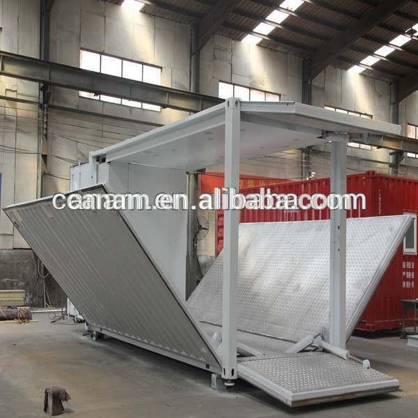 portable 40 ft modified shipping container showroom #5 image