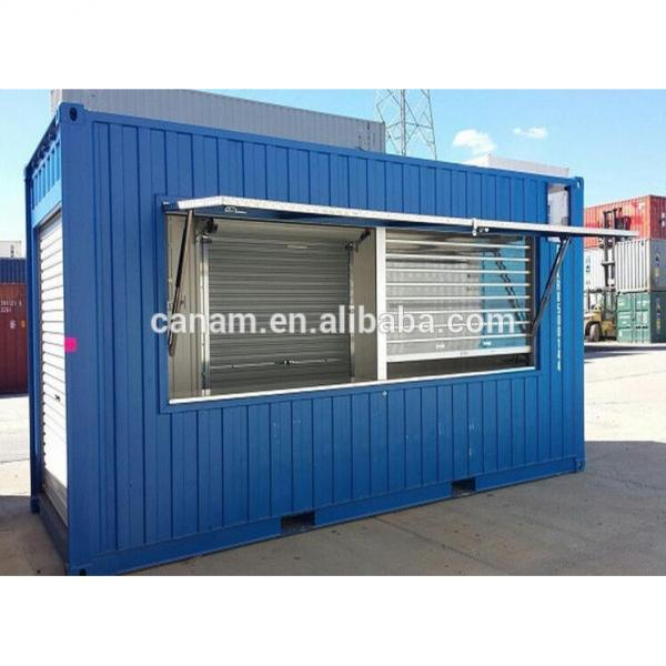modified design steel shipping container showroom #1 image