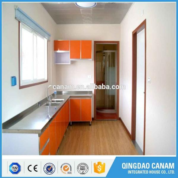 China XGZ ocean shipping solar power container home with color glass #1 image