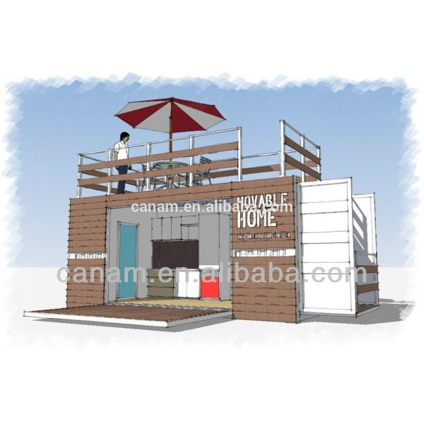 Chinese supplier container house Home For Sale with heating radiators #5 image