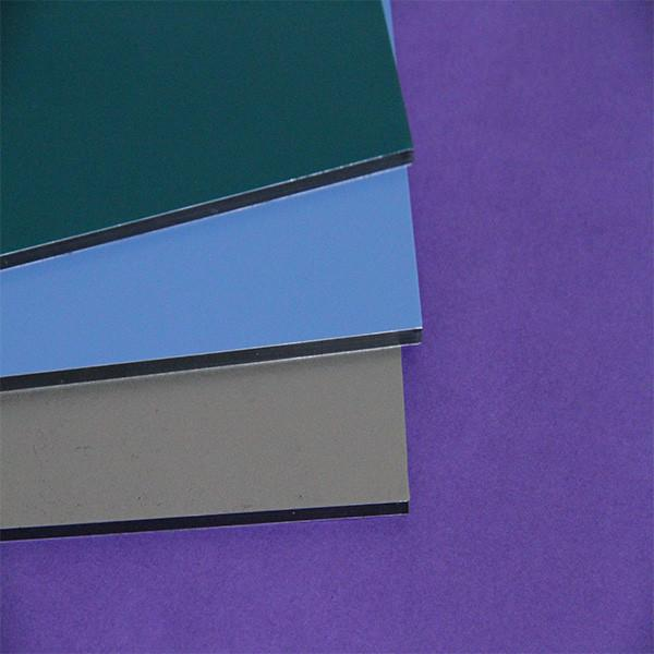The fastest delivery time antistatic polystyrene decorative aluminum composite panel aluminum composite panel 3mm #2 image