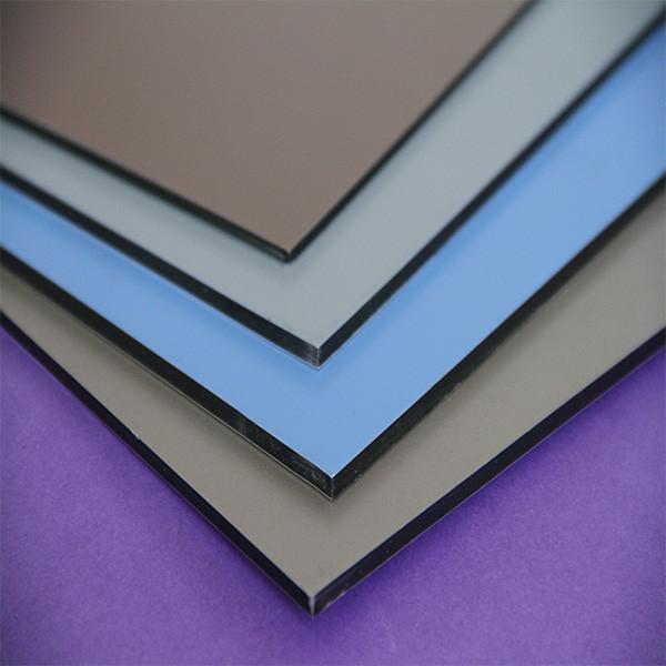 The fastest delivery time brushed surface pe coated aluminum composite panel factory alu compound sheet #1 image