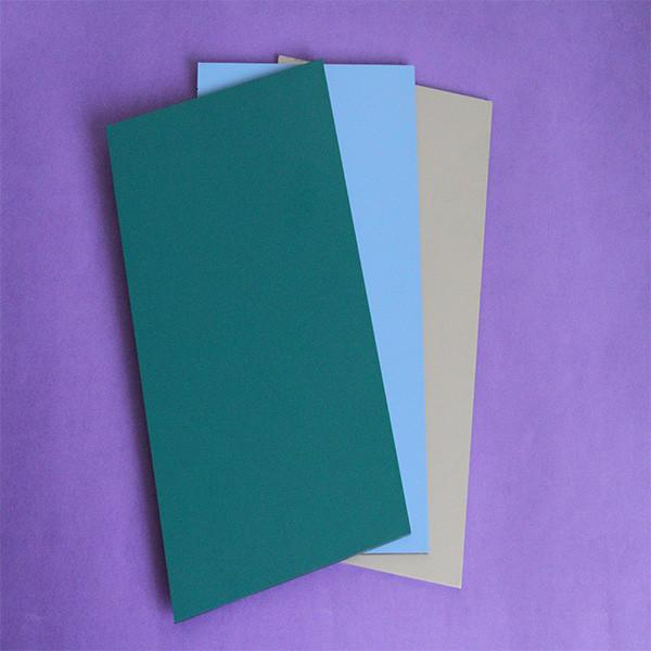 The fastest delivery time brushed surface pe coated aluminum composite panel factory alu compound sheet #2 image