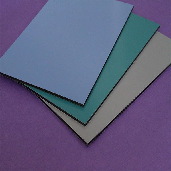 The fastest delivery time brushed surface pe coated aluminum composite panel factory alu compound sheet #3 image