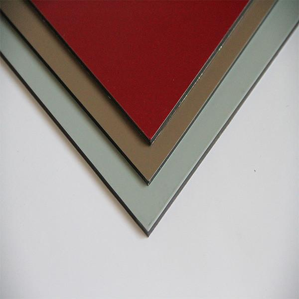 The fastest delivery time brushed surface pe coated aluminum composite panel factory alu compound sheet #5 image