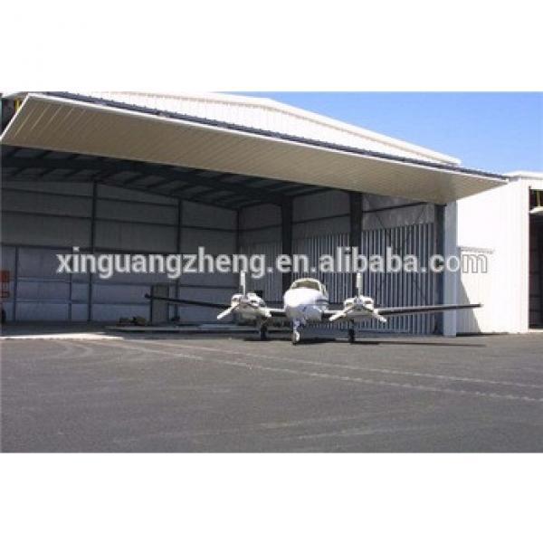 pre-made steel structural framework hangar steel buildings #1 image