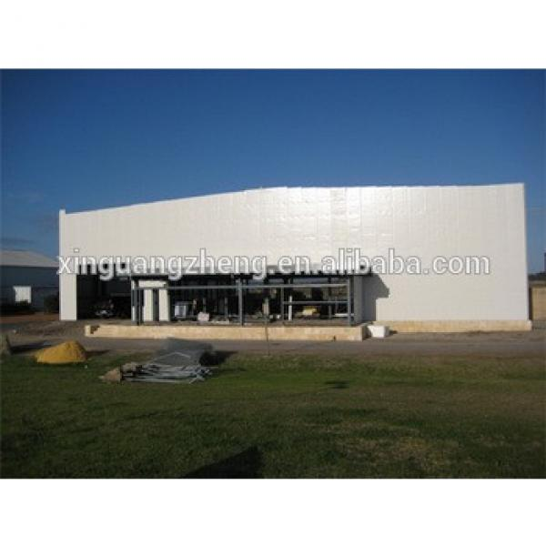 insulated rigid steel construction steel structure hangar #1 image