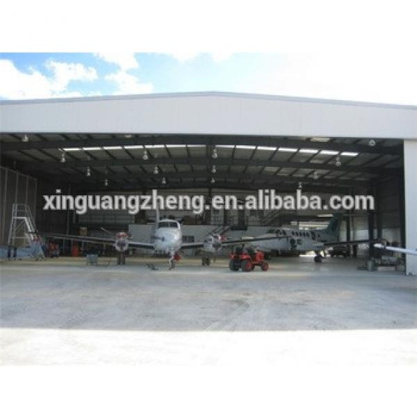 high rise construction design building steel structure aircraft hangar #1 image