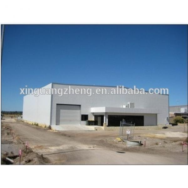 high rise colour cladding prefabricated steel structure hangar #1 image