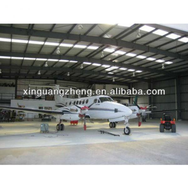 prefabricated light steel structure hangar construction #1 image