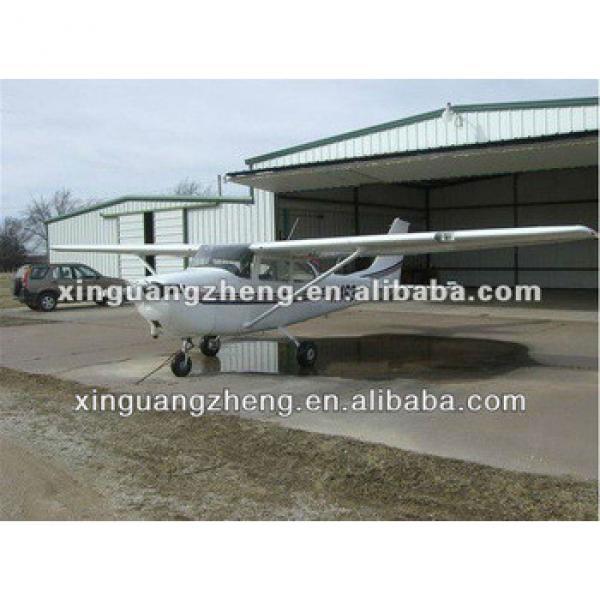 Prefab steel structure modern modular cheap aircraft hangar #1 image